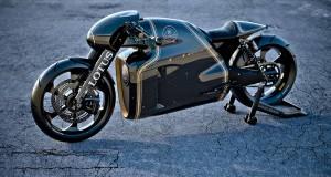 """Дизайнерът на филма """"Трон"""" създаде истински мотоциклет"""