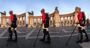 3D принтиран екзоскелет помага на парализиран скиор да проходи отново