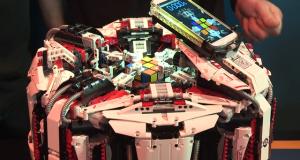 Робот на Lego чупи световния рекорд по редене на кубчето на Рубик