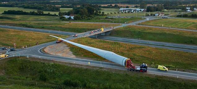 Най-голямото витло за вятърен генератор в света