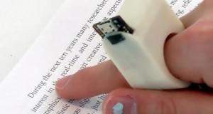 Сбогом господин Брайл! Този малък пръстен ще чете книги на слепите