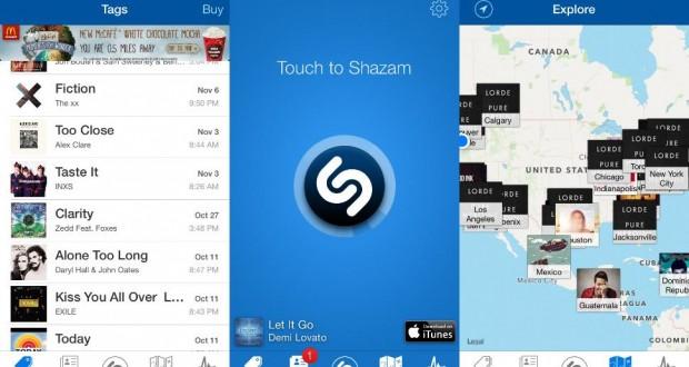 Apple спасява iTunes като интегрира Shazam в следващата iOS