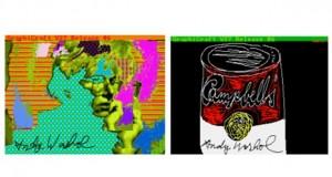 Дигитални творби на Анди Уорхол открити на дискети