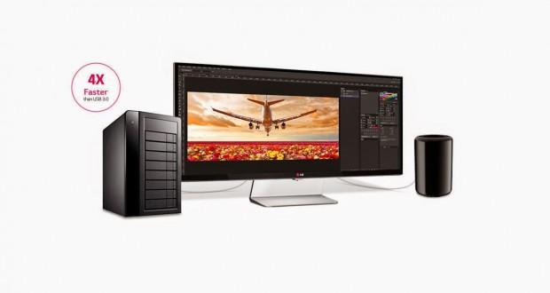 LG показа първият ултра широк QHD монитор с впечатляващите 34 инча