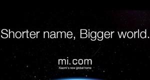 Xiaomi стават глобални с новия си домейн mi.com